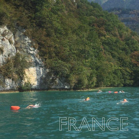 Lake Annecy Swim Quest