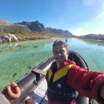 Lofoten Arctic Circle Swimming