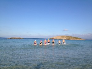 Formentera SwimQuest Channel Swimming Training