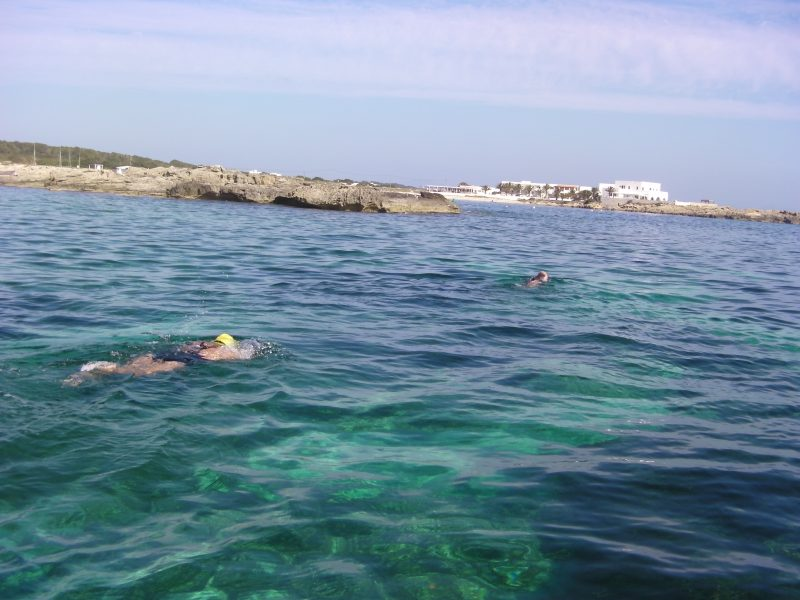 Distance training, Formentera