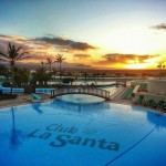 Club La Santa sunset