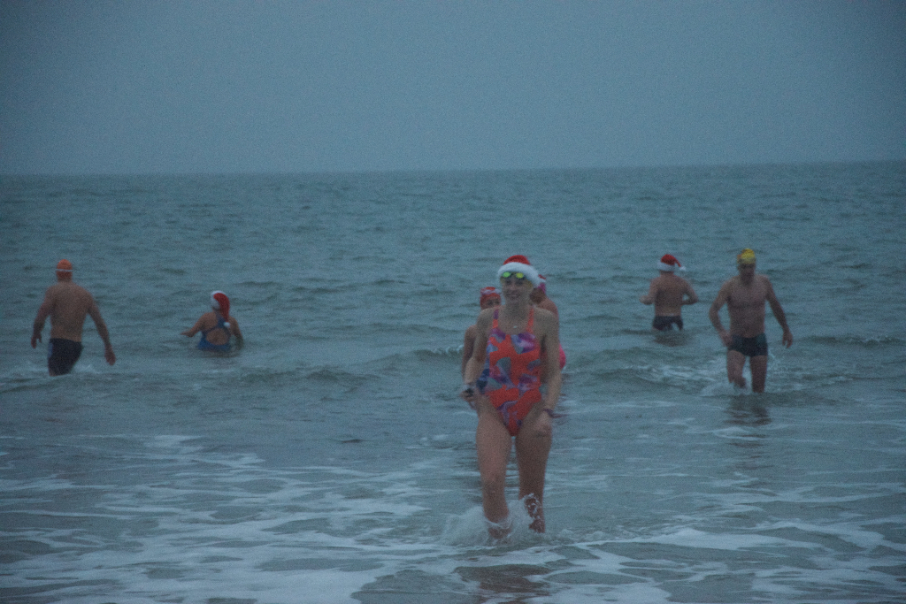 Christmas swimmers - SwimQuest