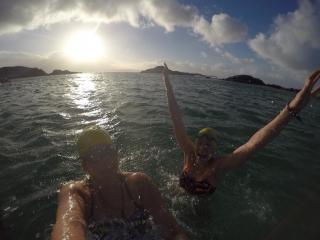 Winter swimming Scotland
