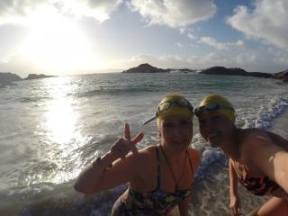 Winter swimming on the Rhu peninsula with SwimQuest