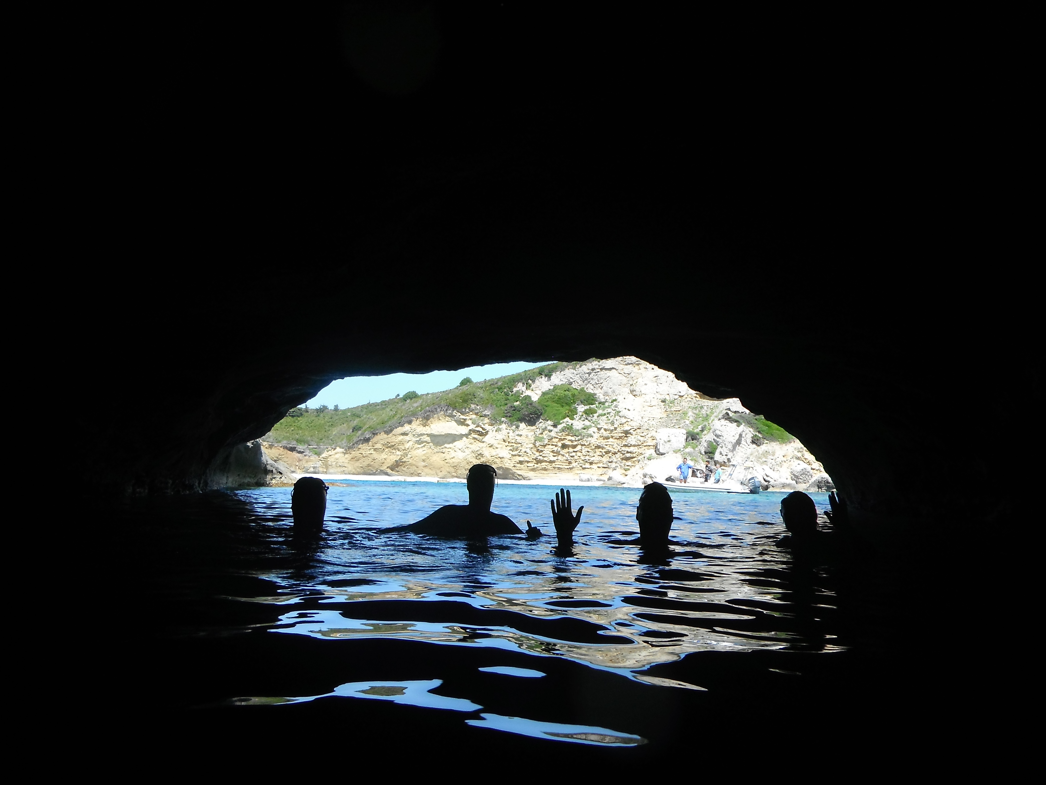 Exploring a cave around Diapolo