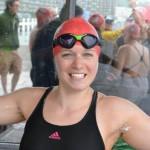 Charlotte Benton Channel Swimming