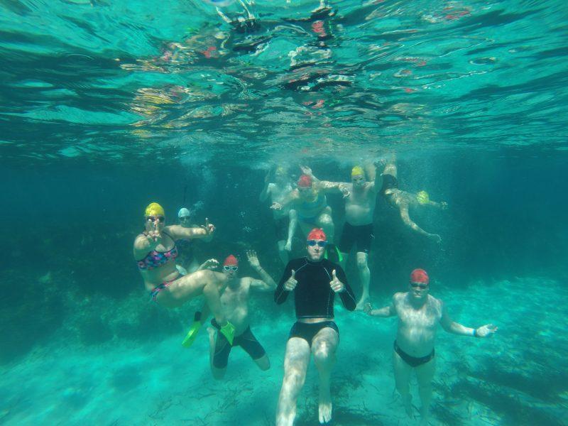 Underwater antics Formentera Swimming