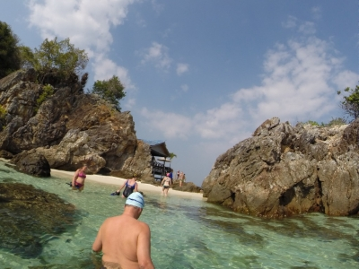 SwimQuest off Coconut Island