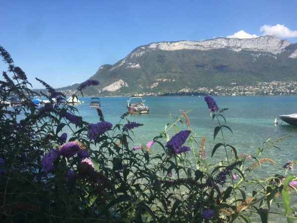 Lake Annecy in September