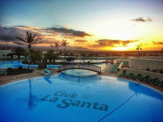Club La Santa sunset