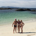 Beach on Rhu peninsula SwimQuest