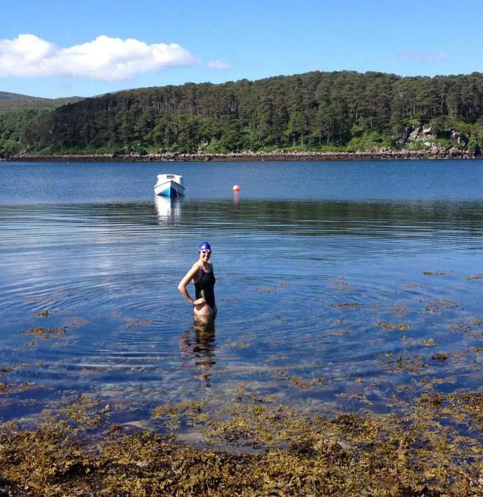 Swimming in Scotland SwimQuest Holidays