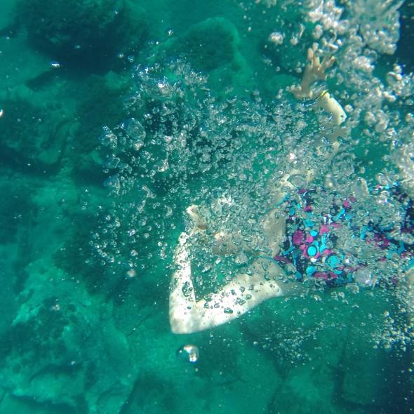 Messing about underwater SwimQuest