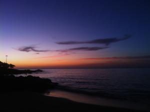 SwimQuest Blog Lanzarote Sunset