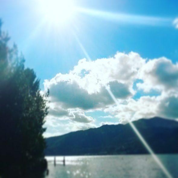 SwimQuest Lago D'Orta in autumn