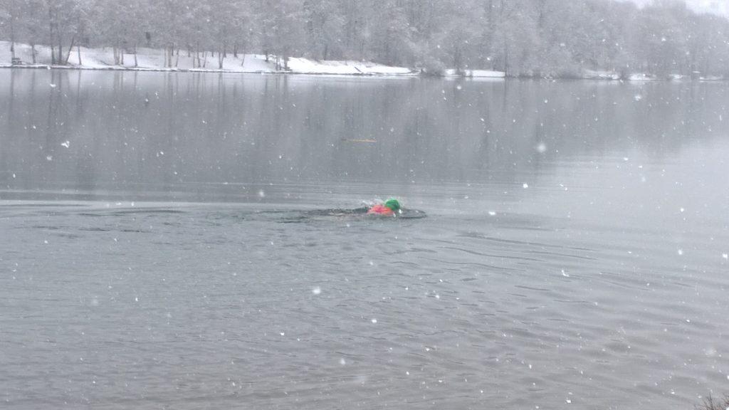 Rachel Hill winter swimming SwimQuest