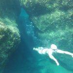 Underwater in Croatia SwimQuest Swimming Holidays