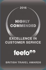 SwimQuest British Travel Awards Feefo Customer Service