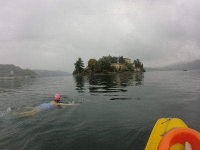 St Julian in the mist SwimQuest