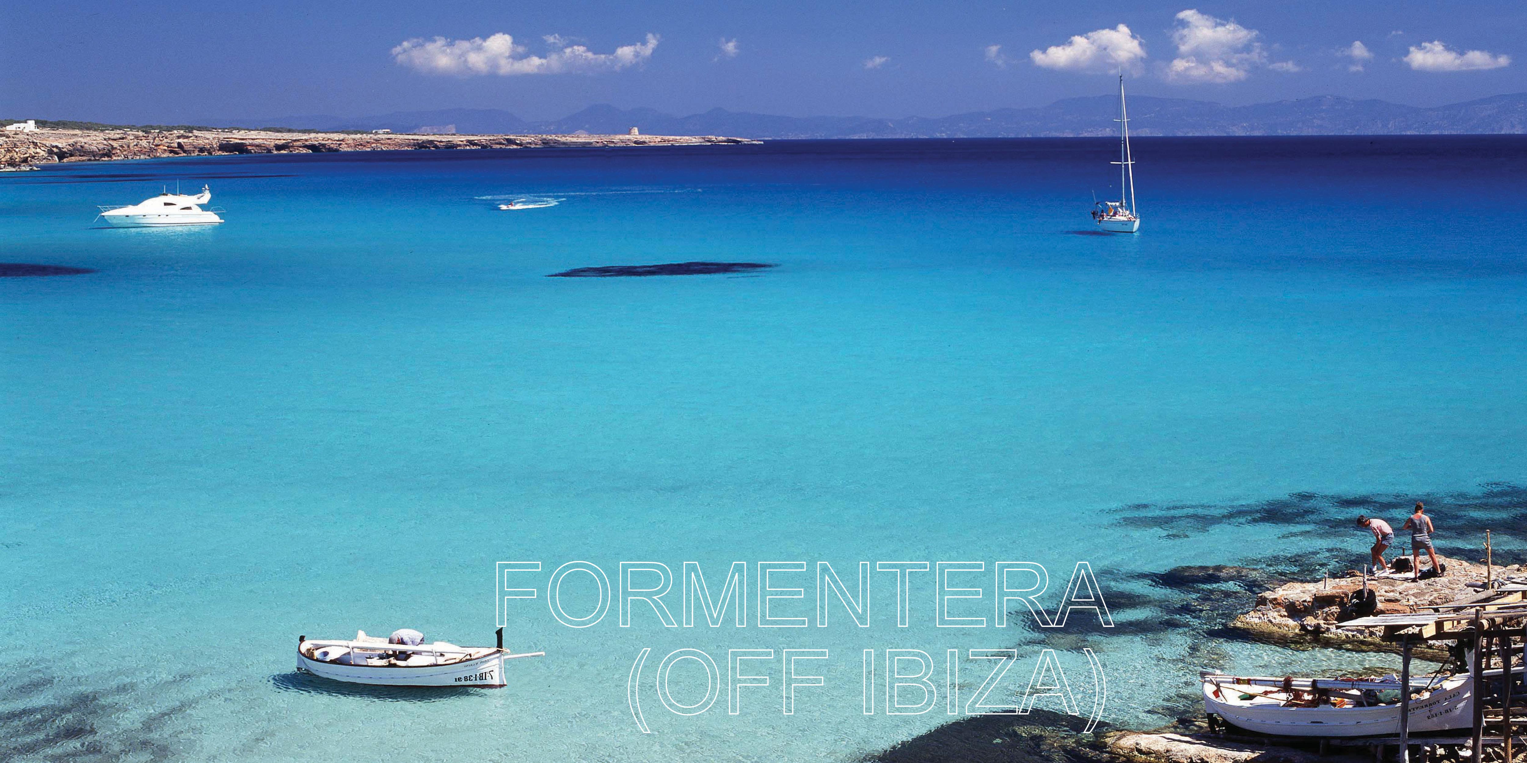 Formentera swimming