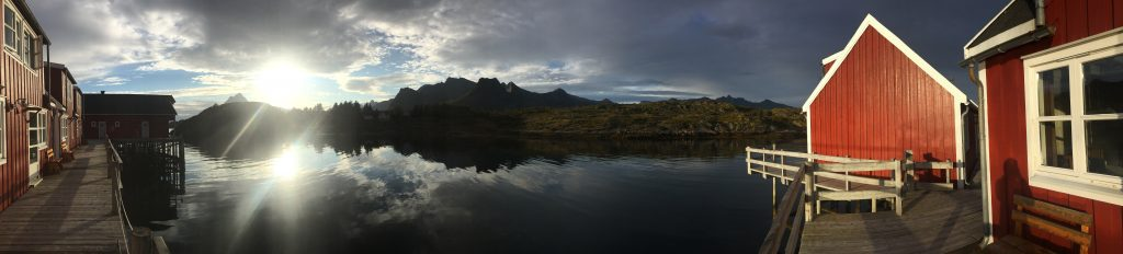 SwimQuest Lofoten, Arctic Circle Accommodation
