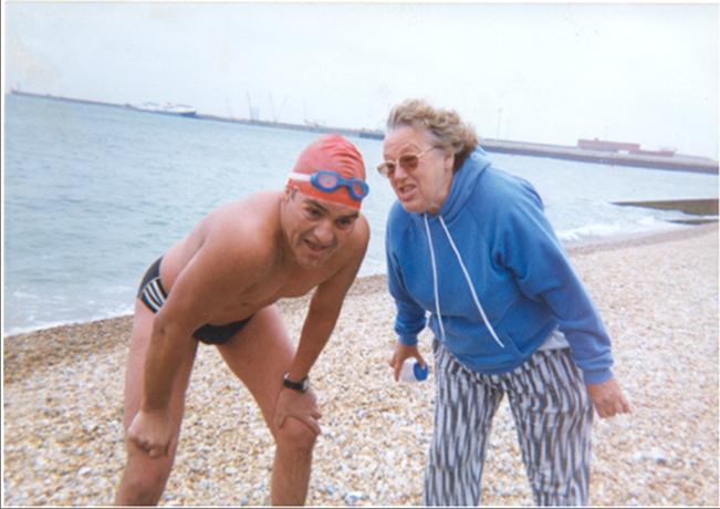 Freda Streeter and John Coningham-Rolls