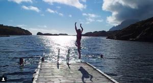 Nyvågar Rorbuhotell SwimQuest