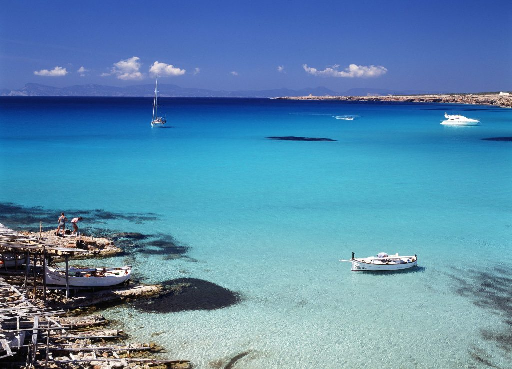 Award winning beaches in Formentera