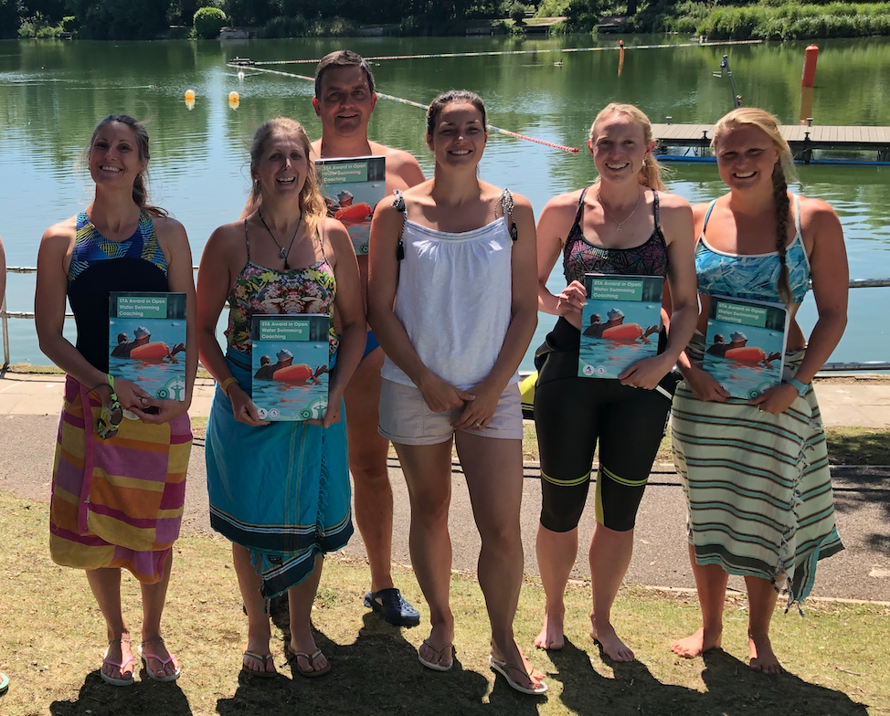 SwimQuest Guides on Keri-anne Payne's Open Water Coaching Course
