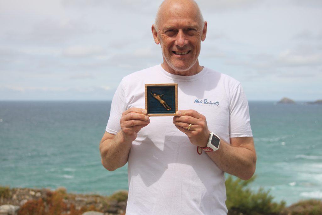 SwimQuest Secret Race Medal